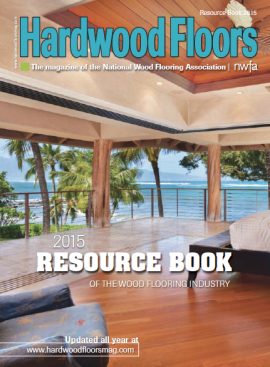 Hardwood Floors Magazine 2015 Resource Book Cover